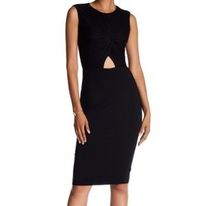 NWT Bailey 44 Anthropologie Black Dress Size MP